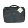 Сумка для ноутбука Continent CC-02 черный/синяя отделка